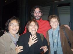Hiro Nakamura, Liliana, Violeta y Fito