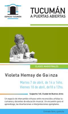 Violeta Gainza